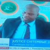 I Know What To Do As A Chief Justice; Justice Chitembwe Juma During The First CJ Interview