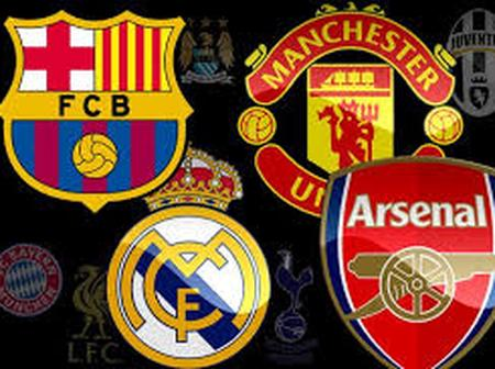 Check Out The Top 10 Most Valuable Clubs In The World As Well As Their Debt Value