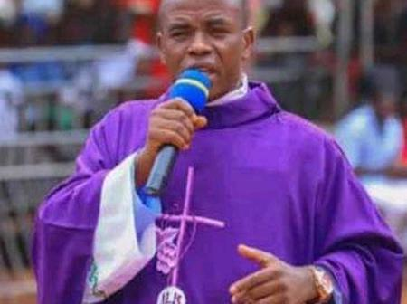 Fr Mbaka Donates Generously To His Diocese