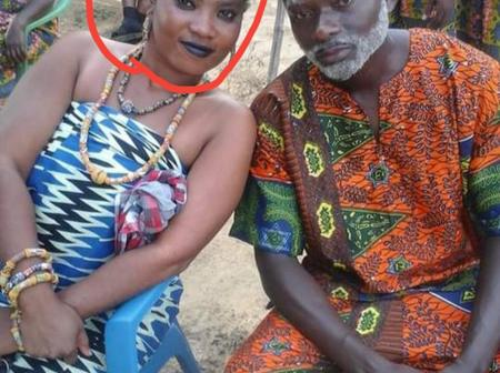 Who remember the beautiful Ghanaian actress sitting beside Poku Mahala?see how she looks recently.