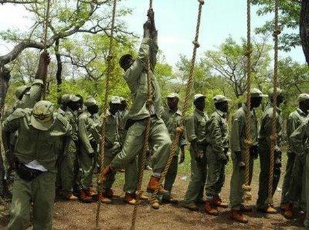 Photos of NYSC Training In Different Orientation Camps In Nigeria
