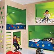 Take a look into these beautiful shared bedroom for our little ones