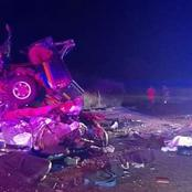 Another Fatal Accident, 3 Cars Crushed And 6 People Confirmed Dead, Very Sad News Mzansi