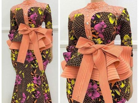 Few Days To Easter, Check Out These Latest Ankara Styles For Mothers