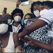 Who is Next? Patrick Amoth Becomes The First Kenyan To Get Covid-19 Jab