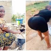 Check Out Stunning Photos Of Curvy And Beautiful House Wives Who Are Hardworking