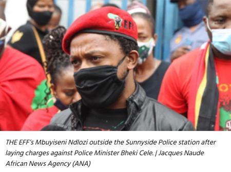 EFF's Mbuyiseni Ndlozi NOT a rape suspect – Gauteng police