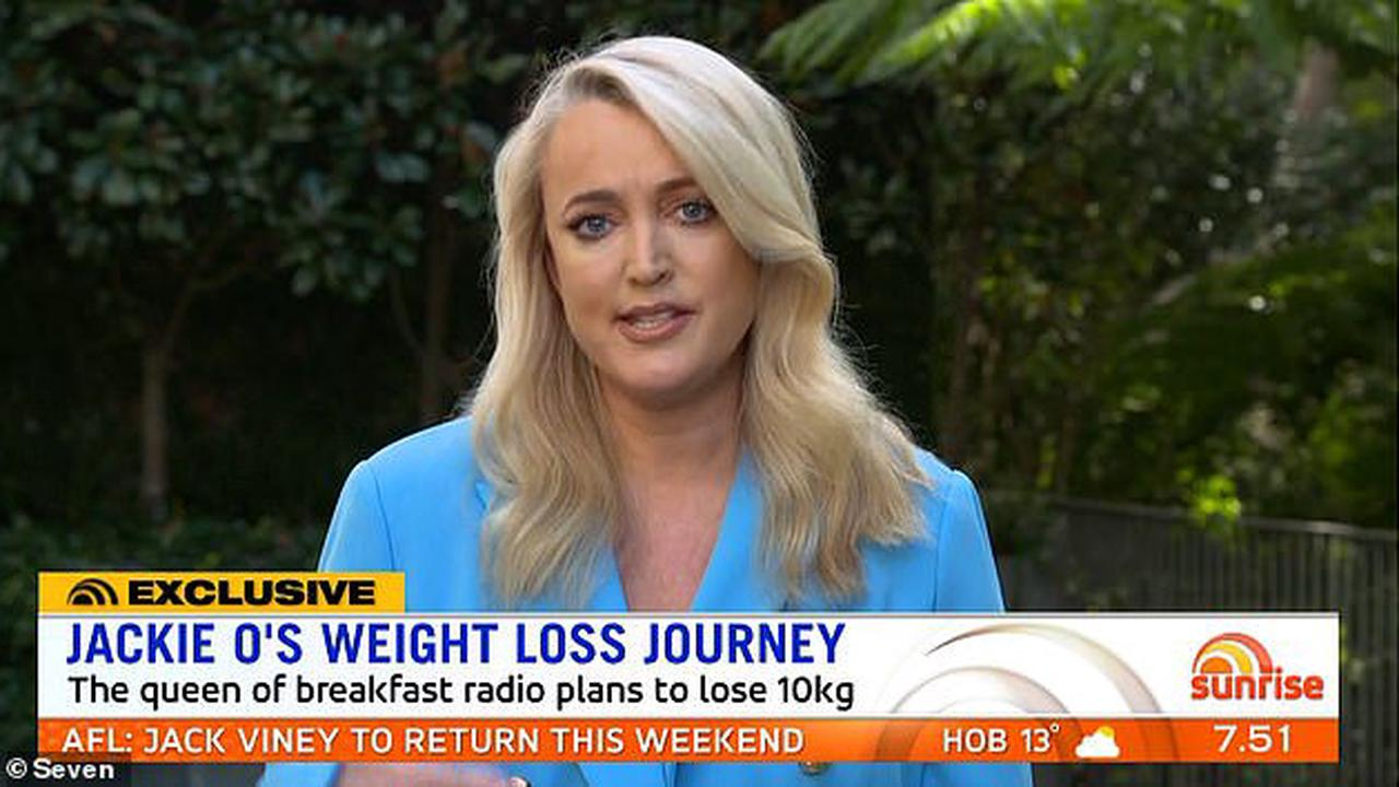Jackie 'O' Henderson becomes emotional as she reveals how her $300-per-week Uber Eats habit 'made her a recluse'