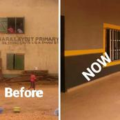 Photos: Enugu State Government Reconstructs 11 Classroom Blocks At This Nursery School