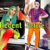 Have You Seen Bobrisky Recently? Checkout His Before And Recent Looks (Photos)