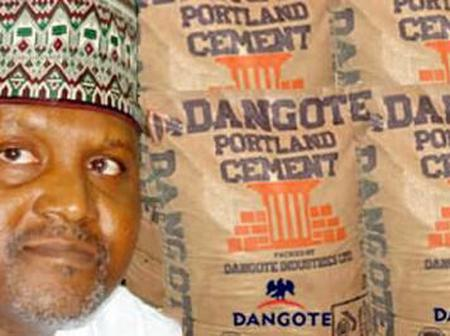 Dangote Group Has Finally Revealed Why Thier Cement Is Sold N1,800 In Zambia But N3,500 In Nigeria