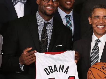 Barack Obama Congratulates LeBron James