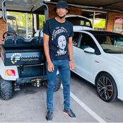 Xola Mlambo's recent pictures causes a frenzy with his fans.