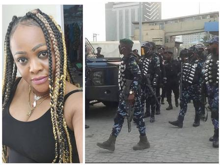 Our uniform men are working so hard to give us peace in the land without any stains: Helen Paul says
