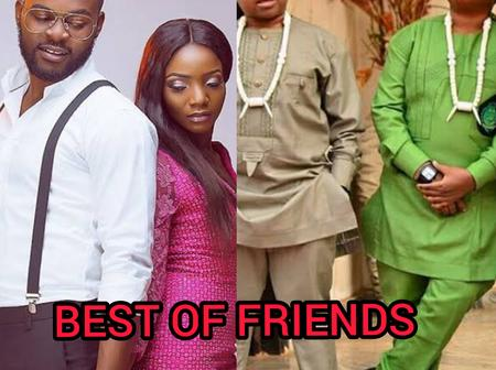 See Photos of 10 Nigerian Celebrities that have Openly Showed us how Close they are to Each Other