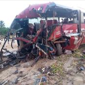 See The Fatal Accident That Killed 16 Persons Today in Ghana