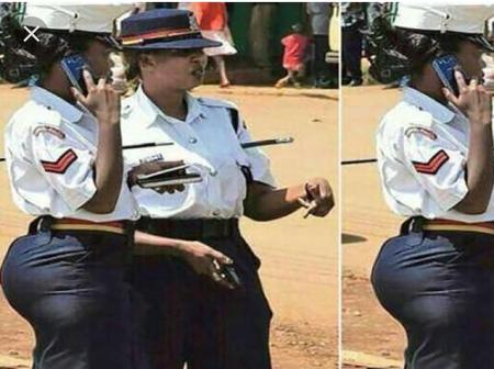 Meet Traffic Police Officer Linda Okello [PHOTOS]