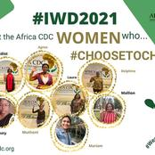 Meet the African cdc woman who choose to challenge covid19