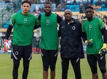 Watch Video Of Super Eagles Players Travelling To Porto Novo Through Boat
