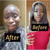 Check Out Photos Showing How SABENA Looked Like Before Her Alleged Fight With Her Boyfriend