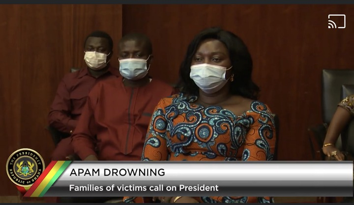 de307a276c4e4263953e5a697fa131dc?quality=uhq&resize=720 - Apam Drowning Incident: Families Of Victims Meet Akufo-Addo Face-To-Face; Scenes From Jubilee House