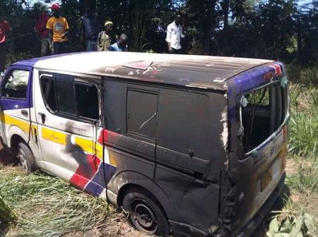 Accident Along Kericho-Nakuru Highway