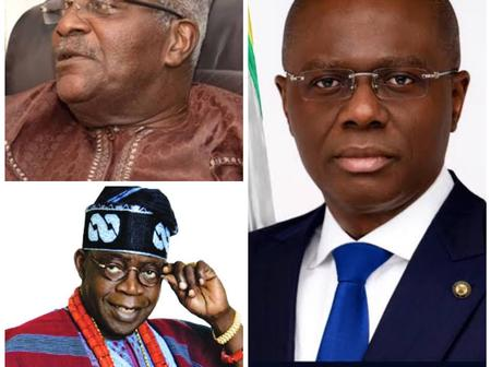 Photos Of All Lagos State Governors, From Brigadier Mobolaji Johnson To Mr. Babajide Sanwo-Olu