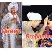She Is A Traditional Queen And Also A Prophetess; Meet Olori Prophetess Naomi