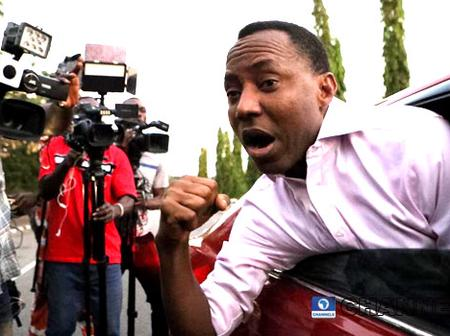 Sowore Urged Nigerians in UK to Occupy The Hospital Buhari Would Be Staying.