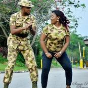 Check Out These Romantic Pre-Wedding Pictures Of Soldiers