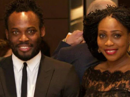 Meet The Beautiful Wife Of Michael Essien And His Gorgeous Kids.