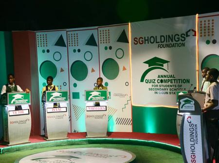 Winners Emerge In Annual Quiz Contest Sponsored By SG Holdings Foundation in Ogun State