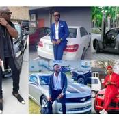 10 Handsome Celebrities And Their Cars (Photos)