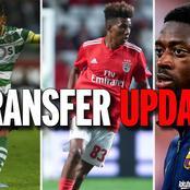 Todays Big Transfer rumours: Lacazette, Ronaldo, Messi, Lamptey, De Gea, Raphinha