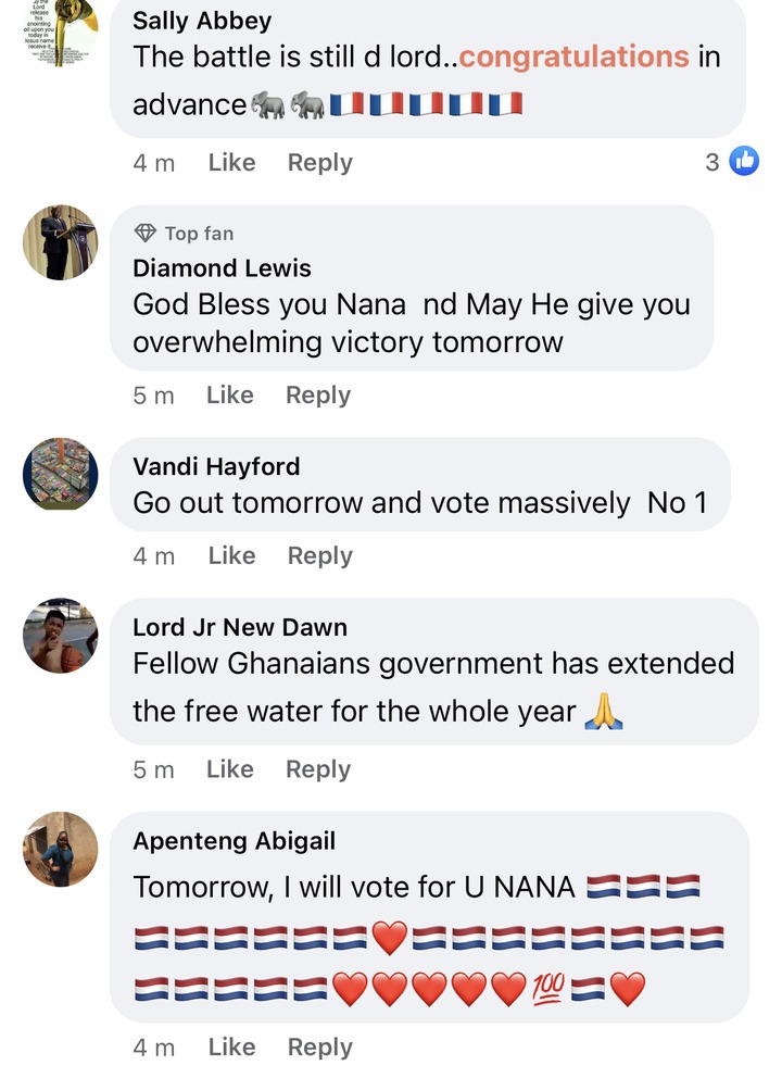 """de786f231f34f2850fd22b3b7d35a60e?quality=uhq&resize=720 - """"We can't never be ungrateful"""": Ghanaians React To President Akufo-Addo's Nation Address Positively"""