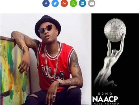 Nigeria Singer Ayodeji Balogun, Popularly Called Wizkid Wins NAACP Image Awards For The Second Time