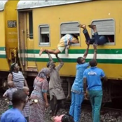 Before Buhari Became President, See The Train Lagosians Use, And What They Now Have