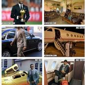 Samuel Eto, The Richest African Footballer Shows Off His Net Worth