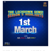 BBNaija Host Season 5 Highlights, The Lockdown Geng Coming Up On The 1st Of March