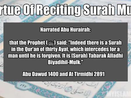 Benefits and Virtues of Reciting Surah al Mulk