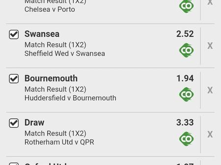Late Night Seven (7) Matches To Bank On With 155.62 Odds This Wednesday