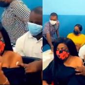 Broadcaster Nana Aba Anamoah Vaccinate Her Covid-19 Vaccine - Ghanaians React