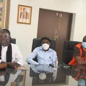 4 acteurs culturels primés: Gohou, Bomou, Ramatoulaye et Cimetière reçus par la Ministre Raymonde