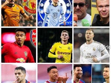 Transfer Headlines; Another EPL Club Interested In Signing Hazard, Ruben To Manchester United