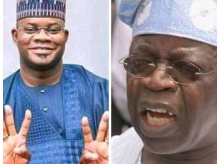 Yahaya Bello: Bola Tinubu is a Kingmaker, He will Support a Youthful President in 2023
