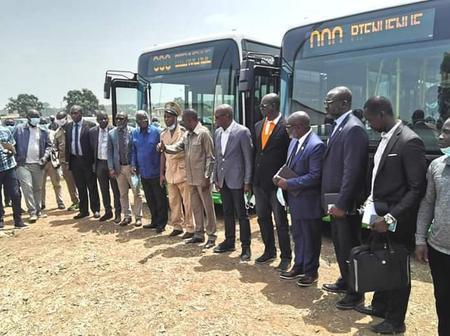 La SOTRA démarre en septembre 2021 à Bouaké avec 73 bus et 8 lignes
