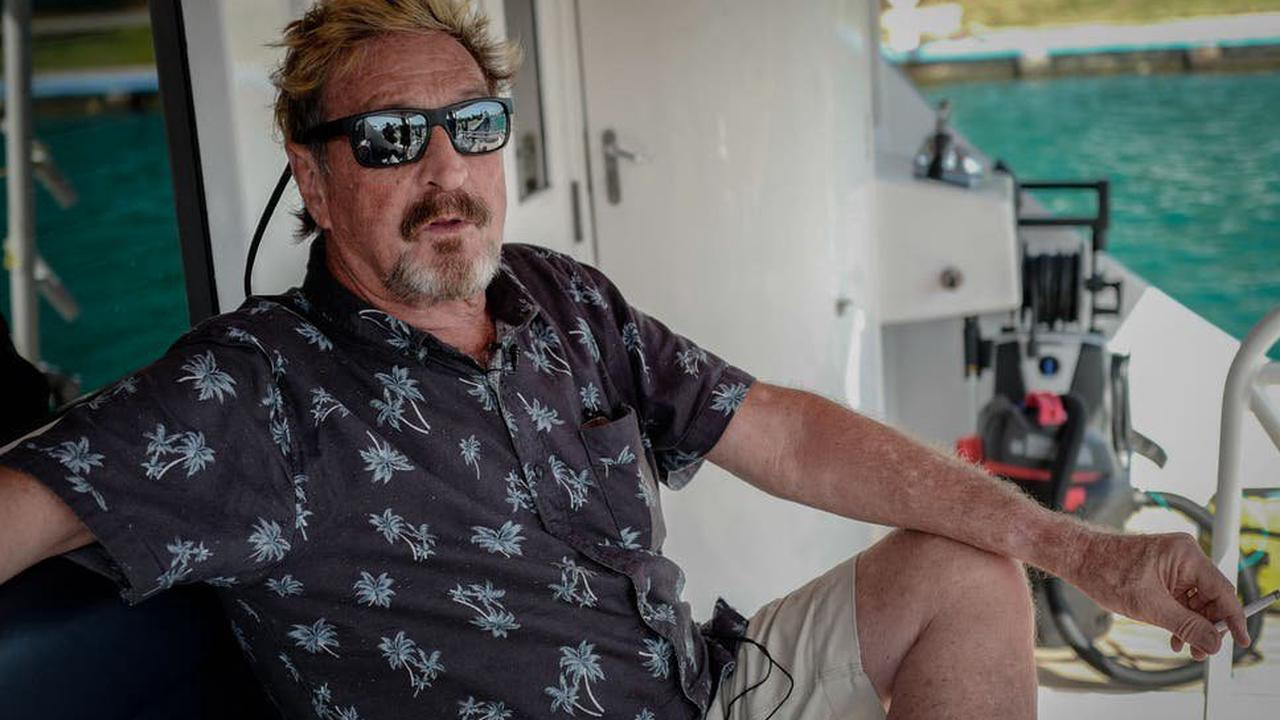 John McAfee found dead in his prison cell ahead of extradition to US