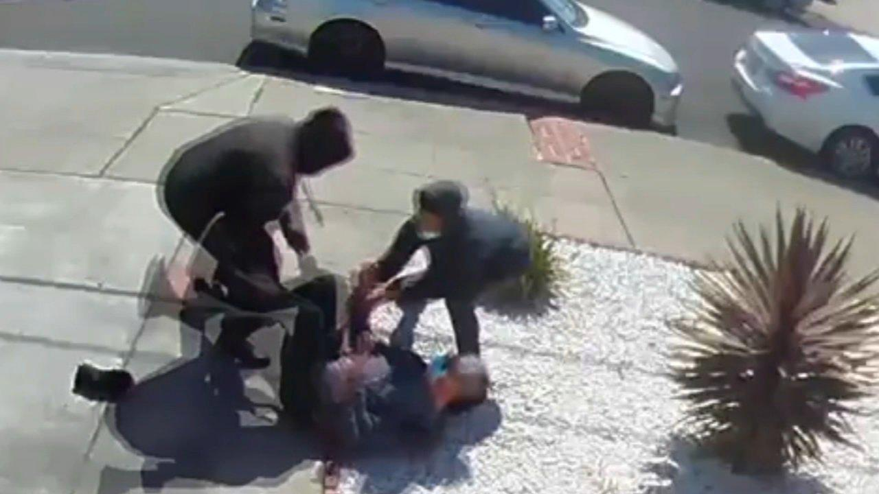 Video shows teens attack, rob 80-year-old Asian man in San Leandro