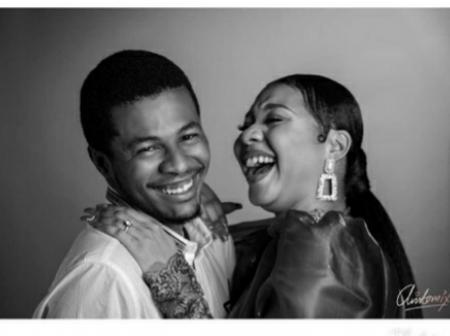 Spiff In The Johnsons: See Lovely Pictures Of Him And His Wife Some Months After Their Wedding