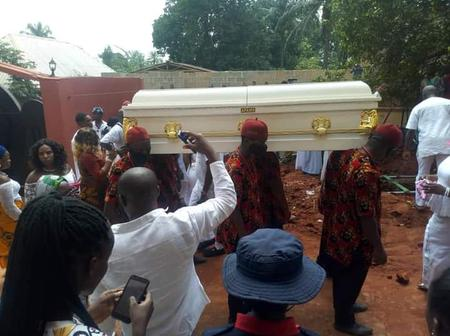 Morocco Maduka was finally laid to rest today, here are pictures from his burial ceremony
